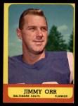 1963 Topps #3   Jimmy Orr Front Thumbnail