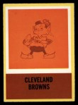 1967 Philadelphia #48  Browns Logo  Front Thumbnail