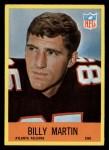 1967 Philadelphia #6   Billy Martin  Front Thumbnail