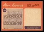 1970 Topps #249  Alex Karras  Back Thumbnail