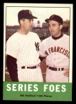1963 Topps #331  Series Foes    -  Bill Stafford / Bill Pierce Front Thumbnail