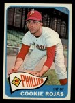 1965 Topps #474   Cookie Rojas Front Thumbnail