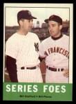 1963 Topps #331   -  Bill Stafford / Bill Pierce Series Foes   Front Thumbnail