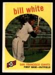 1959 Topps #359  Bill White  Front Thumbnail