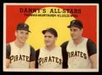 1959 Topps #17  Danny's All-Stars  -  Frank Thomas / Ted Kluszewski / Danny Murtaugh Front Thumbnail