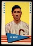 1961 Fleer #92   Jim Bagby Front Thumbnail