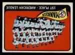 1965 Topps #513   Yankees Team Front Thumbnail
