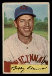 1954 Bowman #108  Bobby Adams  Front Thumbnail