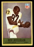 1967 Philadelphia #152  Roy Jefferson  Front Thumbnail