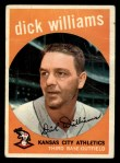 1959 Topps #292   Dick Williams Front Thumbnail