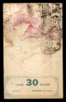 1965 Topps Embossed #30    Ken McBride  Back Thumbnail