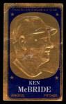 1965 Topps Embossed #30   Ken McBride   Front Thumbnail