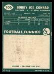 1960 Topps #106   Bobby Joe Conrad Back Thumbnail