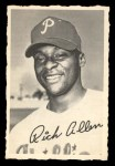 1969 O-Pee-Chee Deckle Edge #1   Dick Allen Front Thumbnail
