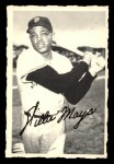 1969 O-Pee-Chee Deckle Edge #16  Willie Mays  Front Thumbnail
