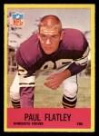 1967 Philadelphia #101  Paul Flatley  Front Thumbnail