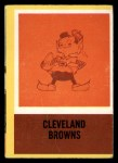 1967 Philadelphia #48   Cleveland Browns Logo Front Thumbnail