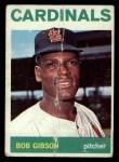 1964 Topps #460  Bob Gibson  Front Thumbnail