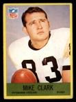 1967 Philadelphia #149  Mike Clark  Front Thumbnail