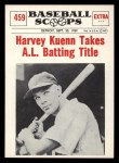 1961 Nu-Card Scoops #459    Harvey Kuenn  Front Thumbnail