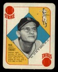 1951 Topps Blue Back #23   Dizzy Trout Front Thumbnail