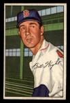 1952 Bowman #117   Bill Wight Front Thumbnail