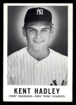 1960 Leaf #135  Kent Hadley  Front Thumbnail