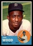 1963 Topps #453   Jake Wood Front Thumbnail