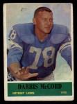 1964 Philadelphia #64   Darris McCord Front Thumbnail