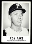 1960 Leaf #16  Roy Face  Front Thumbnail