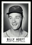 1960 Leaf #90  Billy Hoeft  Front Thumbnail