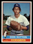 1976 Topps #530   Don Sutton Front Thumbnail