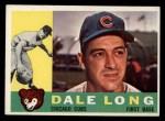 1960 Topps #375   Dale Long Front Thumbnail