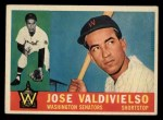 1960 Topps #527  Jose Valdivielso  Front Thumbnail