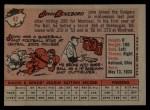 1958 Topps #42   John Roseboro Back Thumbnail