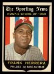 1959 Topps #129  Rookies  -  Frank Herrera Front Thumbnail