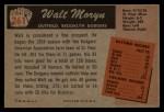 1955 Bowman #261   Walt Moryn Back Thumbnail