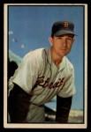 1953 Bowman #100   Bill Wight Front Thumbnail