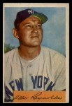 1954 Bowman #113   Allie Reynolds Front Thumbnail