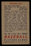 1951 Bowman #46  George Kell  Back Thumbnail