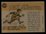 1960 Topps #553  All-Star  -  Bill Skowron Back Thumbnail