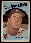 1959 Topps #236   Ted Bowsfield Front Thumbnail