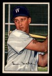 1952 Bowman #15   Sam Mele Front Thumbnail