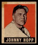 1949 Leaf #139  Johnny Hopp  Front Thumbnail