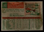 1959 Topps #141  Rookies  -  Joe Shipley Back Thumbnail