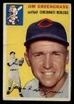 1954 Topps #22  Jim Greengrass  Front Thumbnail