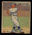 1933 Goudey #155   Joe Judge Front Thumbnail
