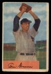 1954 Bowman #17   Tom Gorman Front Thumbnail