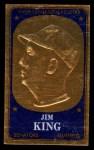 1965 Topps Embossed #54   Jim King Front Thumbnail