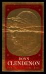 1965 Topps Embossed #9   Donn Clendenon   Front Thumbnail